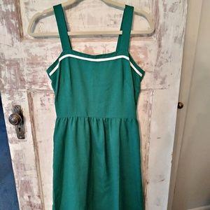 Vintage Kelly Green Dress